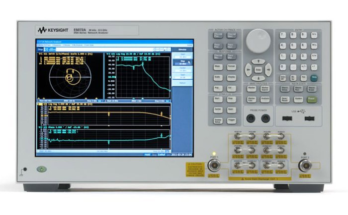 Keysight E5072A ENA Vector Network Analyzer,4.5GHz or 8.5GHz