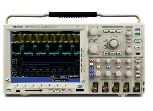 Tektronix MSO4104 1 GHz, 5 GS/s, 10 M record length, 4+16 channel mixed-signal o